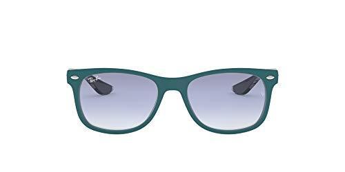 Ray-Ban Junior Unisex-Kinder New Wayfarer Junior Brillengestelle, Türkis (Top Matte Turquoise On Grey), 47
