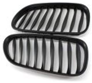 A Pair Of Matte Black ABS Plastic Grilles Grille For BMW Z4 E85 2003-2007