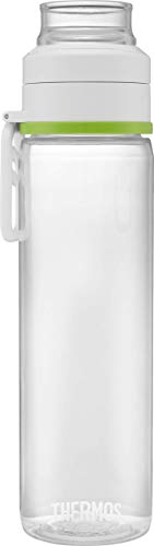 Thermos Bottle Infuser Flasche, BPA-frei, Eastman Tritan Kunststoff, grün, 710 ml