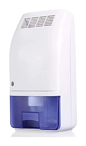 Smart Mini Deumidificatore d'aria, Ammortizzatore di umidità portatile da 700 ml 23W ultra silenzioso con sensore di umidità e serbatoio staccabile, purificatore d'aria auto-off for ufficio garage