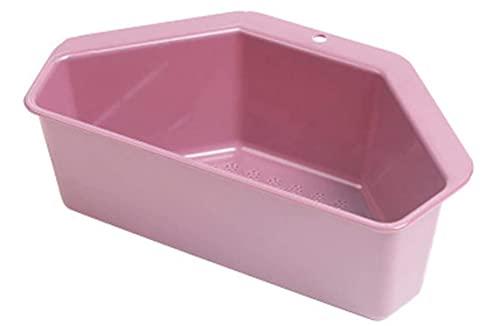 Longsheng Canasta de drenaje triangular con ventosa para fregadero de cocina, fregadero de cocina, filtro para colgar en la esquina, para cocina y baño