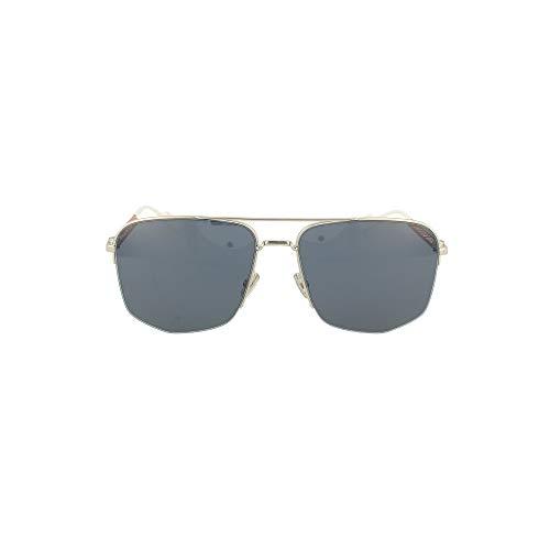 Dior Sonnenbrille DIOR180 KWX/KU silber blau größe 60-mm-brillen-mann