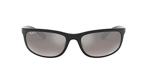 Ray-Ban 0RB4265 Gafas de sol, Shiny Black, 62 para Hombre