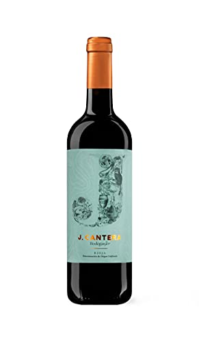 J CANTERA TINTO, vino tinto joven, 75 CL, D.O.Ca. Rioja