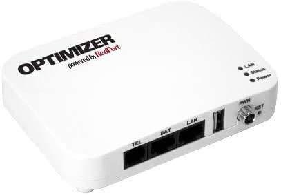 RedPort WiFi Optimizer (wXa-213) - Enrutador Wi-Fi satelital y Puerta de Enlace de Voz