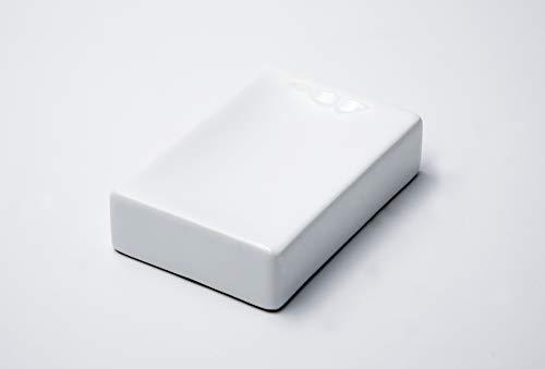 RIDDER Cube, Ceramica, Bianco, Portasapone