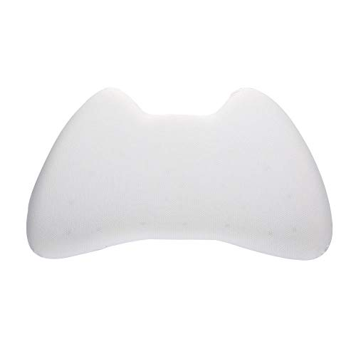 Memory Foam Kopfkissen,Memory Foam Erwachsenen Kissen, Memory Foam Kissen-Pearl White_500 * 300 * 50MM,Ergonomisches Nackenkissen für HWS