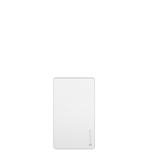 Mophie PowerStation - Universal External Battery - Made for Smartphones and Tablets (6,000mAh) - White