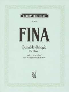 BUMBLE BOOGIE NACH HUMMELFLUG - arrangiert für Klavier [Noten / Sheetmusic] Komponist: FINA JACK + RIMSKY KORSAKOFF NIKOLAI