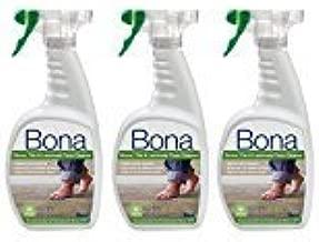 Bona Stone Tile & Laminate Floor Cleaner Spray MegaPack Pack of 3