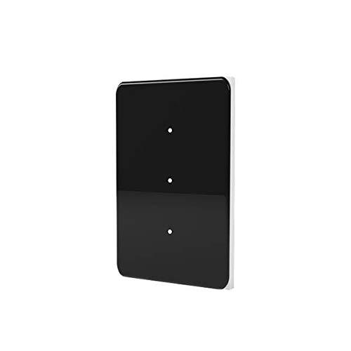LifeSmart Interruptor inteligente LS125WH | 16 millones de colores, combinaciones libres | Panel negro | Control doble/control múltiple