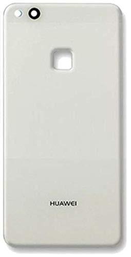 Desconocido Tapa Batería para Huawei P10 Lite WAS-LX1A Color Negro Blanco Azul Oro Cristal Trasero Cubierta Trasera (Blanco)