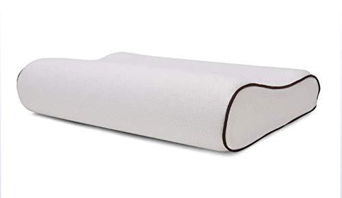 YZT QUEEN Memory Foam Contour Pad - staubdicht, hypoallergen, nackenfreundlich, luftige orthopädische Bettwäsche, Standardgröße, herausnehmbar,Bamboofiberwhite