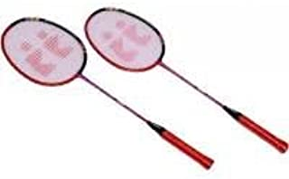 Aaina Konex Racket CI - 410, Semi Carbon Body Frame, Set of 2 Pairs(4 Rackets) with Durable Long Lasting Carry Bag- Colour Assorted.