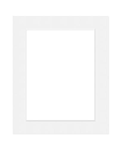 Deha Passepartout, 50x70 cm, für Bilder im Format 40x60 cm, Weiß (Hellweiß)