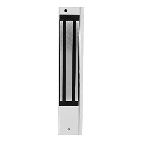 Kit de sistema de control de acceso a la puerta, cerradura magnética eléctrica de 280 kg / 618 lb, cerradura de acceso electrónica montada en la superficie con fuente de alimentación de 12 V CC