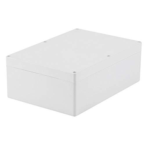 Akozon Junction Box, 263 * 185 * 95mm IP65 Wasserdicht Kunststoffgehäuse Projekt Fall DIY Anschlussdose Kunststoff Gehäuse Fall Power Abzweigdose