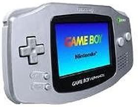 Game Boy Advance - Limited Edition Platinum (Renewed)