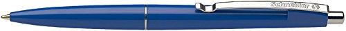 Schneider Schreibgeräte Kugelschreiber Office, Druckmechanik, M, blau, Farbe des Schaftes: blau