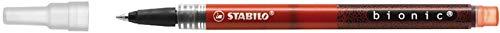 STABILO Tintenkugelschreibermine bionic, 0,4 mm, Schreibfarbe: rot (5 Stück)