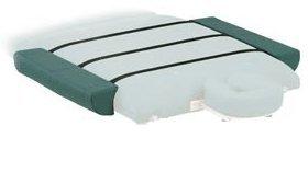 Porta-Lite Armablageaufsatz für Massageliege, zur Verbreiterung der Liege, 2 rechteckige Kissen, je 28cm breit, Marineblau
