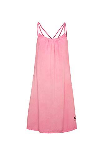 SOCCX Damen Sommerkleid mit Träger-Design am Rücken