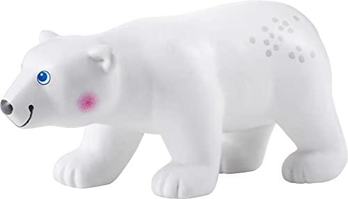 HABA 305449 - Little Friends – Eisbär, Spielfigur ab 3 Jahren