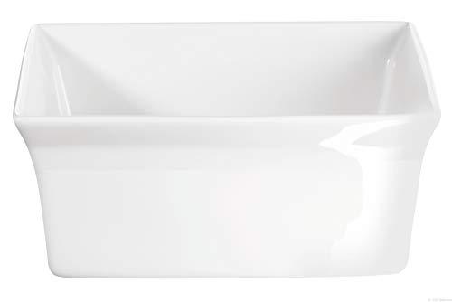 ASA Gratinform, Porzellan, weiß, 18x18x8 cm