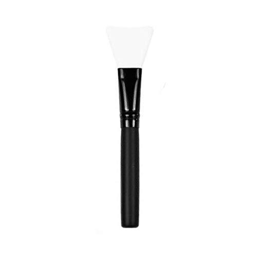 Professional Lightweigt Silicone Face Mask Mixing Brush Facile à nettoyer les soins de la peau Facial Beauty Makeup Brush Tools -Transparent White