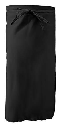 Grevotex Grillschürze Bistroschürze Schürze Kochschürze 95x120 cm schwarz