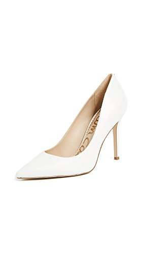 Sam Edelman Women's Hazel Pumps, Bright White, 10 Medium US
