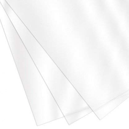 CFS Products 7 Mil 8-1/2 x 11 Inches PVC Binding Covers - Do Not Buy for Face Shields - Please Read Description First - Pack of 100, Clear Compatible with GBC, Fellowes and Trubind Binding Machines