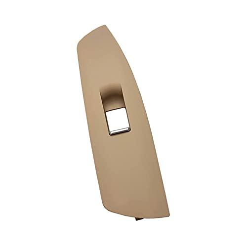WANGFAFA Interruptor regulador de Ventana Interior de Coche, Panel de Marco Exterior, Ajuste para BMW Serie 7 F01 F02 730735740745750760 Cubierta de Interruptor de Ventana (Color: Oyster Derecha)