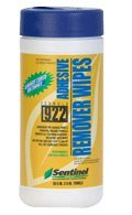 Sentinel Formula 922 Urethane Adhesive Remover Towels / Wipes, 60 Count