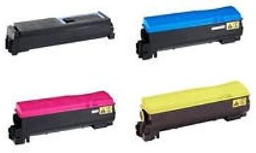 Kyocera Ecosys M6535cidn M6535 Black 10K Cyan 12K Yellow 12K Magenta 12K Toner Genuine Kyocera Brand