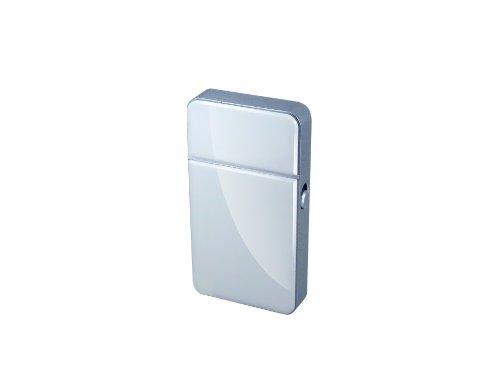 Lifemax 1255WHI - Afeitadora con pilas, color blanco