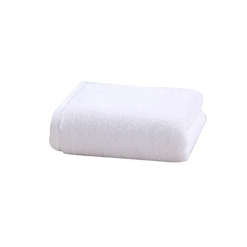 Lujo Toallas De Mano Algodón Mezclado, Lavables A Máquina Toallas De Mano Uso Multipropósito Blanco