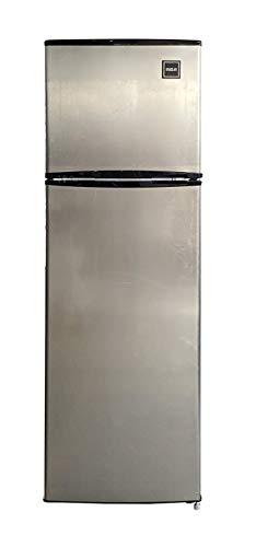 RCA RFR1089 2 Door Apartment Top Freezer Refrigerator, 10 cu ft, Stainless