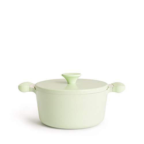 IKOHS UMA - Cacerola (Verde - 24 cm)