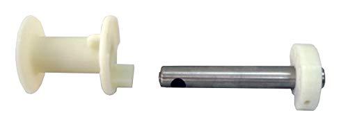 Sun Garden Ersatzteil Spule + Spulenachse für Ampelschirm ø350-375 und 320x320 mit 70mm Rohrdurchmesser