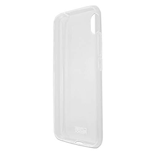 caseroxx TPU-Hülle für Gigaset GS110, Handy Hülle Tasche (TPU-Hülle in transparent)