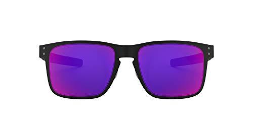 Oakley Hombre Holbrook Gafas de Sol metálicas, Negro