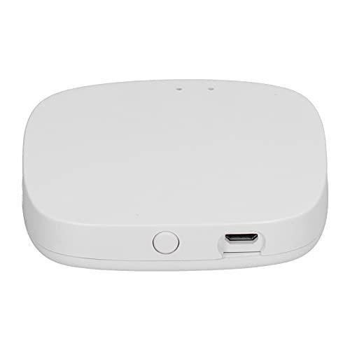 Haowecib Wifi Gateway, Intelligent Integration Mini Smart Door Lock Wi-Fi Bridge Wifi+Bluetooth+Zigbee USB Power Supply Voice Remote Automation Smart Home Equipment for Smart Devices Home Supplies