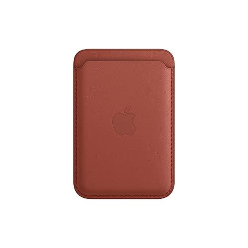 Apple Cartera de Piel con MagSafe (para el iPhone) - Rojo Arizona