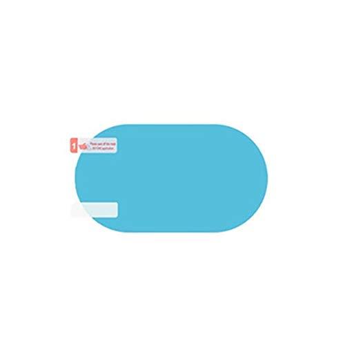 Smosyo Película del Espejo retrovisor del Coche película de protección contra la Lluvia Espejo retrovisor película de Lluvia del Espejo retrovisor película de protección contra la Lluvia del Coche