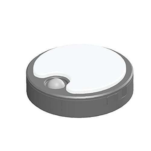 EElabper Recargable de Escalera lámpara de luz Blanca USB Nocturna automática del Sensor de Movimiento de la luz del gabinete de luz LED