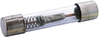 Cartridge Fuses 250V 2.5A Time Delay Glass (5 pieces)