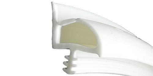 5m Holzzargendichtung 12mm Falz - 3,5mm Nut - WTD 3731 in Beige, Braun und Weiß (Weiß)