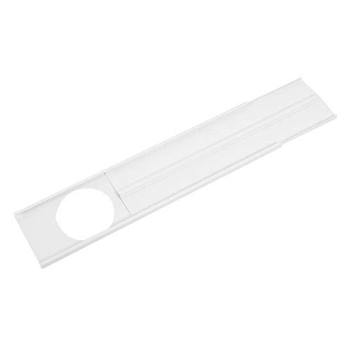 Omabeta Kit de Sellado de Ventana portátil Accesorio para Aire Acondicionado Deflector de Sellado de Ventana Duradero para el hogar del Aire Acondicionado móvil(2-Section Baffle)