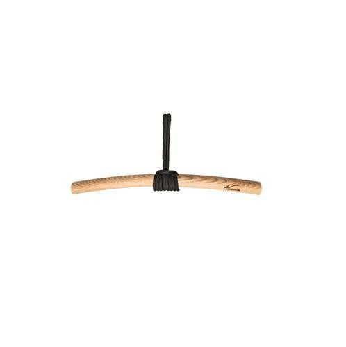 eaglefit Unisex – Erwachsene Klimmzugstange ergonomisch geformt, 60 cm, mit Seil-Made in Germany